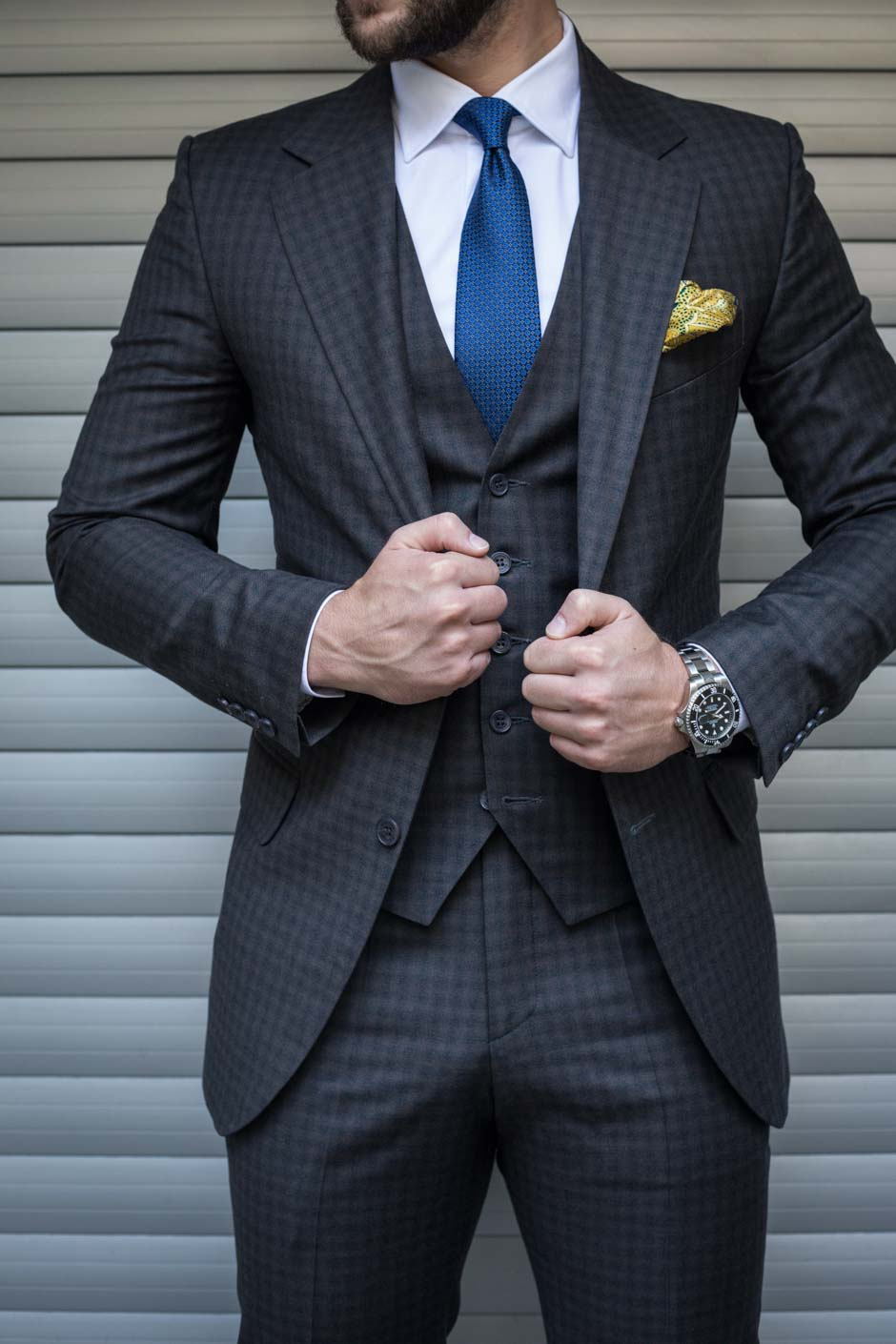 costume sur mesure tailleur
